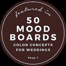 Festtagsdesign im Color Mood Board Book